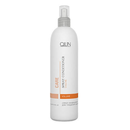 Ollin Спрей-кондиционер для придания объема Care Volume Spray Conditioner 250 млFS-00897Спрей-кондиционер для придания объема Ollin Care Volume Spray Conditioner, придающий объем тонким волосам. Содержит UV-фильтры и защищает прическу от влажности. Укрепляет стержень волоса, добавляя энергию и силу. Натуральные экстракты питают и увлажняют волосяную кутикулу. Спрей Ollin volume spray conditioner укрепляет стержень волоса и увеличивает диаметр, добавляя энергию и силу. Усиливает блеск и облегчает расчёсывание, делает волосы мягкими.