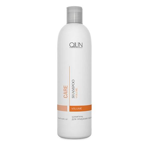 Ollin Шампунь для придания объема Care Volume Shampoo 250 млFS-00897Шампунь для придания объема Ollin Care Volume Shampoo мягко очищает, увеличивает объем от корней до самых кончиков. Укрепляет структуру волоса на длительное время, придавая волосам больше упругости, жизненной силы и объёма. Экстракт фруктов и фруктовые соки увеличивают синтез коллагенов и эластинов, обладают мощным увлажняющим и влагоудерживающим действием, активизируют иммунитет и дарят волосам и коже головы обновление. Обеспечивают максимальный уход за волосами и дополнительный блеск.