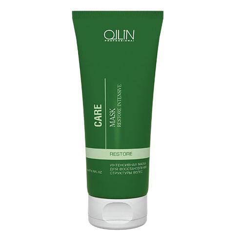 Ollin Интенсивная маска для восстановления структуры волос Care Restore Intensive Mask 200 млFS-00897Интенсивная маска для восстановления структуры волос Ollin Care Restore Intensive Mask. Потрясающая по эффекту, восстанавливающая маска Ollin для сухих, осветлённых, обесцвеченных, химически завитых и уставших волос, утративших жизненную силу. Питает волосы кератиновым протеином. Возвращает блеск и здоровый вид тусклым волосам, повреждённым химическими процедурами. Действие маски Ollin restore intensive mask основано на силе активных компонентов и растительных экстрактов:Витаминный комплекс из 11 экстрактов растений обеспечивает максимальный уход, восстанавливает волосы изнутри и одновременно защищает от агрессивного воздействия окружающей среды. Масло миндаля увлажняет, питает, смягчает, кондиционирует и разглаживает поверхность волоса.Результат: мягкие, блестящие и послушные волосы. Минеральные вещества заново выстраивают разрушенную структуру волоса.