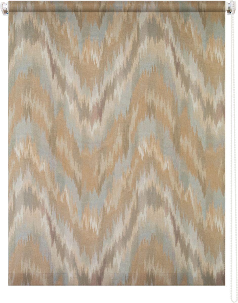 Штора рулонная Уют Майя, 60 х 175 см62.РШТО.8966.070х175Штора рулонная Уют Майя выполнена из прочного полиэстера с обработкой специальным составом, отталкивающим пыль. Ткань не выцветает, обладает отличной цветоустойчивостью и хорошей светонепроницаемостью. Изделие оформлено оригинальным абстрактным узором, отлично подойдет для спальни, кухни, гостиной. Штора закрывает не весь оконный проем, а непосредственно само стекло и может фиксироваться в любом положении. Она быстро убирается и надежно защищает от посторонних взглядов. Компактность помогает сэкономить пространство. Универсальная конструкция позволяет крепить штору на раму без сверления, также можно монтировать на стену, потолок, створки, в проем, ниши, на деревянные или пластиковые рамы. В комплект входят регулируемые установочные кронштейны и набор для боковой фиксации шторы. Возможна установка с управлением цепочкой как справа, так и слева. Изделие при желании можно самостоятельно уменьшить. Такая штора станет прекрасным элементом декора окна и гармонично впишется в интерьер любого помещения.
