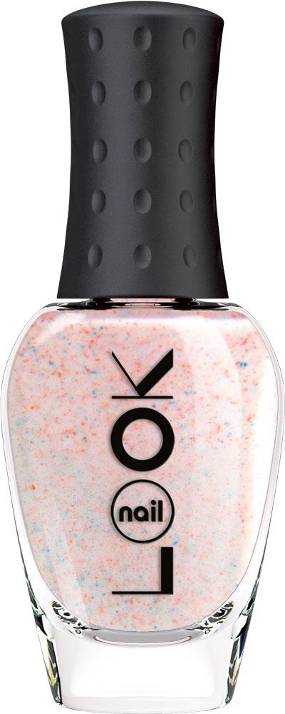 nailLOOK Лак для ногтей серии Real Sugar, 8,5 мл5010777139655Нежный розовый песочный лак с голубыми крапинками