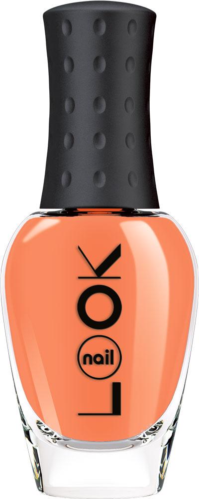 nailLOOK Лак для ногтей серии Real Sugar, 8,5 мл31093Неоновый оранжевый песочный лак
