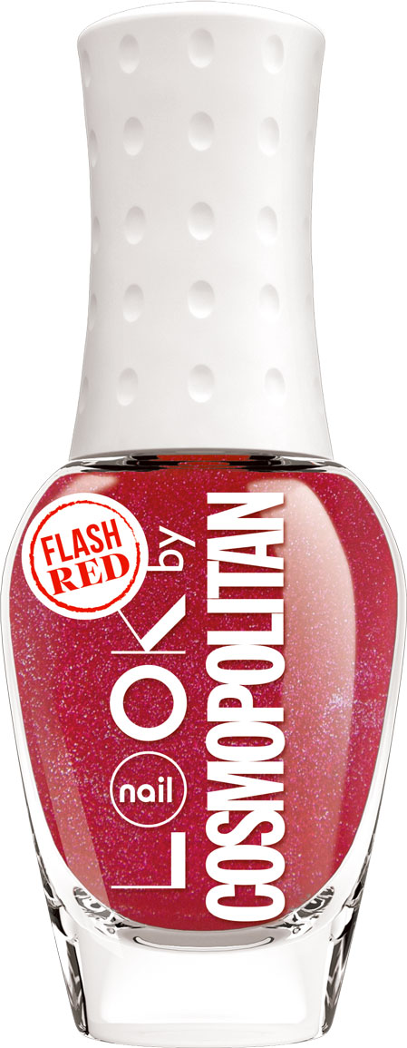 nailLOOK Лак для ногтей серии Trends look by Cosmopolitan, Flash Red, 8,5 мл80284338Эксклюзивная коллекция из 7 потрясающих оттенков разработанных совместно с популярным глянцевым журналом. Вся красота и изящество оттенка раскрываются при нанесении. Мелкие скрытые шиммеры почти не заметны на ногтях,но при высыхании они образуют глянцеый металлический эффект и обеспечивают дополнительную стойкость. Красный оттенок с серебрянным шиммером.