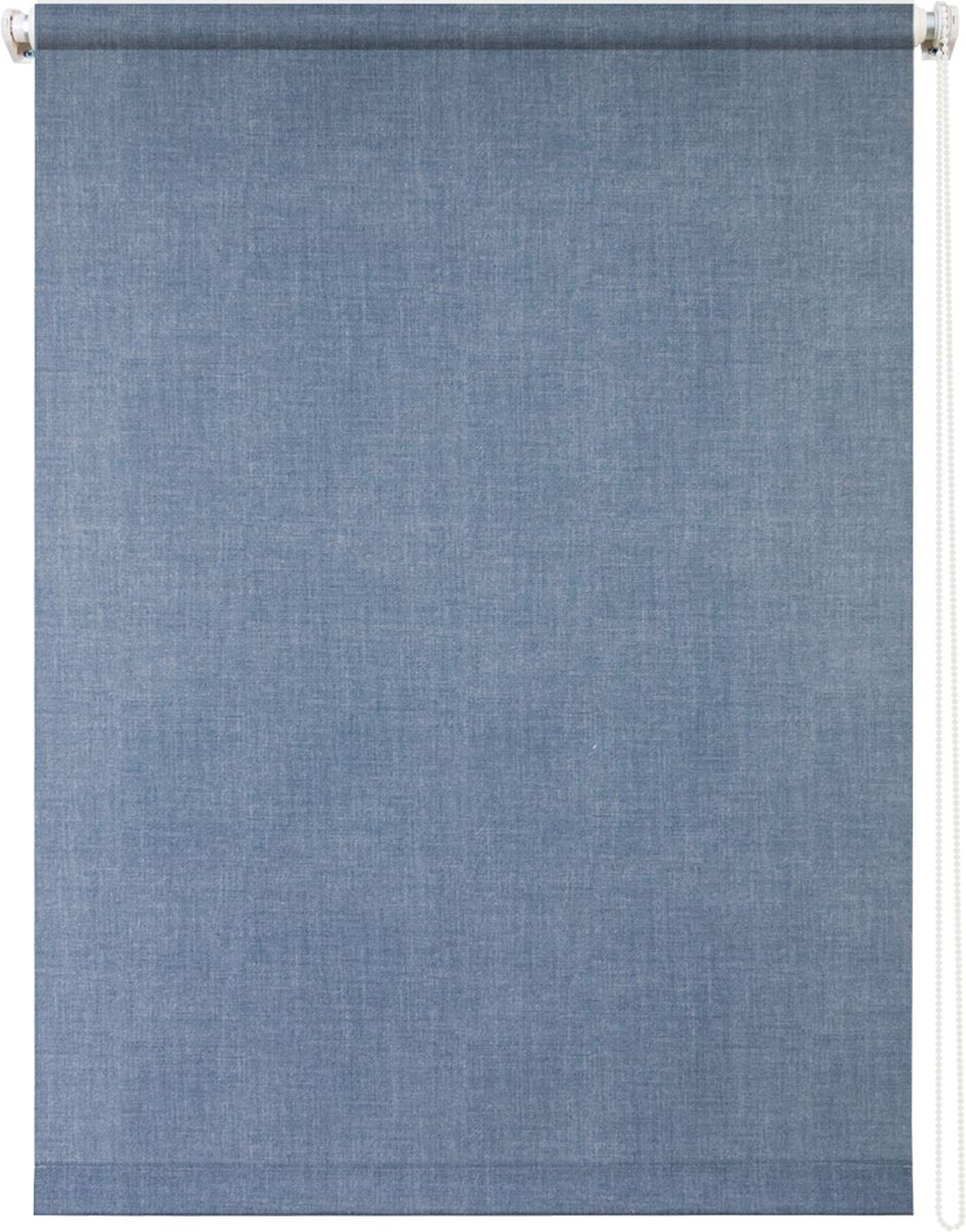 Штора рулонная Уют Деним, 70 х 175 см62.РШТО.8982.100х175Штора рулонная Уют Деним выполнена из прочного полиэстера с обработкой специальным составом, отталкивающим пыль. Ткань не выцветает, обладает отличной цветоустойчивостью и хорошей светонепроницаемостью. Изделие оформлено под джинсовую ткань, отлично подойдет для спальни, кухни, гостиной, а также офиса или кабинета. Штора закрывает не весь оконный проем, а непосредственно само стекло и может фиксироваться в любом положении. Она быстро убирается и надежно защищает от посторонних взглядов. Компактность помогает сэкономить пространство. Универсальная конструкция позволяет крепить штору на раму без сверления, также можно монтировать на стену, потолок, створки, в проем, ниши, на деревянные или пластиковые рамы. В комплект входят регулируемые установочные кронштейны и набор для боковой фиксации шторы. Возможна установка с управлением цепочкой как справа, так и слева. Изделие при желании можно самостоятельно уменьшить. Такая штора станет прекрасным элементом декора окна и гармонично впишется в интерьер любого помещения.
