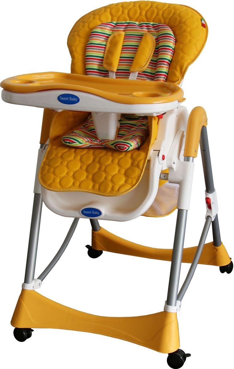 Sweet Baby Стульчик для кормления Royal Strip Arancione