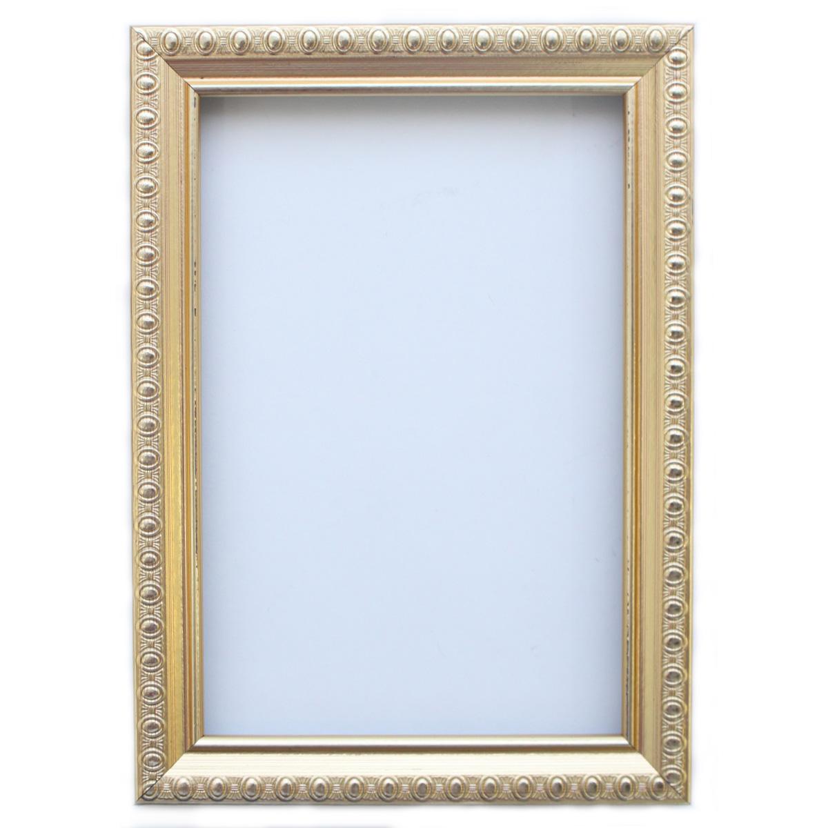 Рама без стекла с прозрачным дном, цвет: золото, 10х15 см. RAM111001TEMP-05Рамы предназначены для оформления картин, фотографий. Обрамленные такой рамкой работы, сразу же преображаются и приобретают завершенный вид.