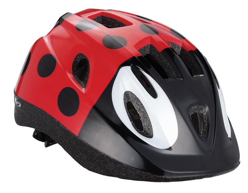 Шлем летний BBB Boogy Bug. Размер S (48-54 см)BHE-37Легкий и надежный велосипедный шлем BBB Boogy Bug предназначен для детей. Имеет 12 вентиляционных отверстий, обеспечивающих комфорт во время ношения. Встроенная сетка защищает ребенка от насекомых. Регулируемые ремни обеспечивают шлему идеальную посадку. Удобная регулировка TwistClose системы, можно регулировать одной рукой. Шлем оснащен моющимися антибактериальными колодками. Светоотражающие элементы сзади обеспечивают безопасность на дороге.Обхват головы: 48-54 см.