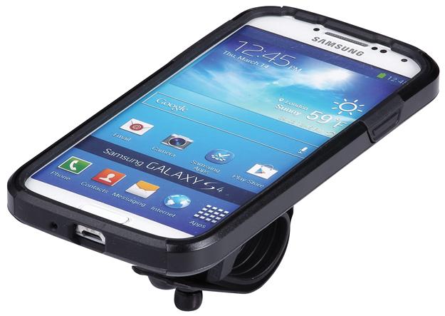 Чехол для телефона BBB Patron GS4, цвет: черный. BSM-06MHDR2G/AПревратите ваш Samsung Galaxy S4 в высокотехнологичный велокомпьютер (Samsung Galaxy S4© в комплект не входит).Ударопрочный чехол из поликарбоната для защиты от падений.Ударопоглощающая силиконовая вставка для дополнительной фиксации и защиты.Набор включает летний и дождевой вариант защиты для настройки чехла по погоде.Дополнительная защита от ударов со стороны аккумулятора дает полноценную защиту со всех сторон.Защита основного объектива камеры от дорожной грязи.Водонепроницаемый материал для защиты динамика.Полноценная функциональность телефона.Устанавливается как в портретном формате, так и в ландшафтном.Регулируемый угол установки для оптимальных возможностей по съемке.Устанавливается на вынос, или руль при помощи включенного крепления BSM-91 PhoneFix.Вес: 70 грамм включая хомут.