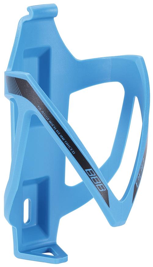 Флягодержатель BBB CompCage, цвет: синий. BBC-19RivaCase 8460 blackНевероятно легкий и надежный флягодержатель BBB CompCage выполнен из высококачественного фибергласса (стеклопластика). Обеспечивает высокую безопасность и надежную фиксацию бутылке, крепится на раму болтами из нержавейки. Модель имеет легкий вес (38 г).