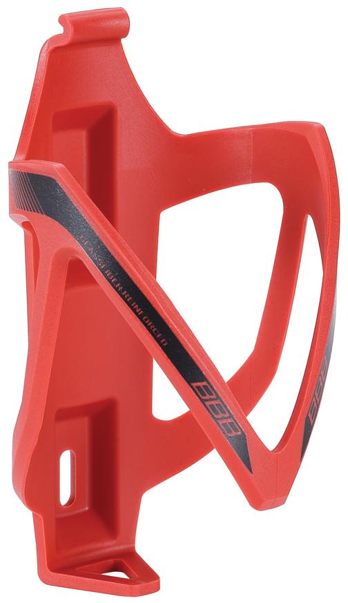 Флягодержатель BBB CompCage, цвет: красный. BBC-19H20BHНевероятно легкий и надежный флягодержатель BBB CompCage выполнен из высококачественного фибергласса (стеклопластика). Обеспечивает высокую безопасность и надежную фиксацию бутылке, крепится на раму болтами из нержавейки. Модель имеет легкий вес (38 г).