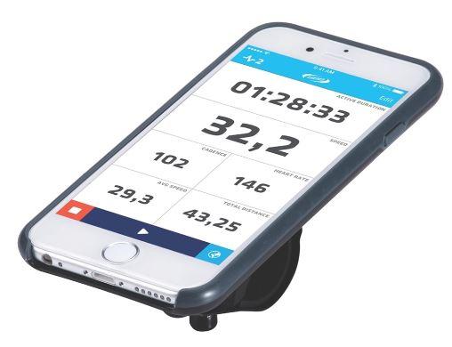 Комплект крепежа для телефона BBB Patron I6, цвет: черный, серый. BSM-03MHDR2G/AКомплект крепежа BBB Patron I6 превратите ваш iPhone 6 или iPhone 6S в высокотехнологичный велокомпьютер. Монолитный дизайн тонкого чехла обеспечивает лучшую защиты. Внешняя оболочка выполнена из устойчивого к ударам и падениям поликарбоната. Чехол произведен в сотрудничестве с TRP в целях снижения ударов и вибраций.Особенности:Опциональный дождевик в комплекте.Полная совместимость с iPhone.Устанавливается как в портретном формате, так и в ландшафтном.Регулируемый угол установки для оптимальных возможностей по съемке.Устанавливается на вынос или руль при помощи включенного крепления BSM-91 PhoneFix.Устанавливается на крышке выноса с помощью BSM-92 SpacerFix (в комплекте).Вес: 69 грамм без хомутов.