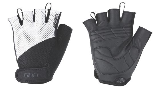 "Перчатки велосипедные BBB ""Chase"", цвет: черный, белый. BBW-49. Размер M"