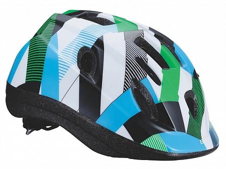 Летний шлем BBB Boogy cool. BHE-37. Размер M (52-56 см)Х66757Легкий и надежный велосипедный шлем для детей. 12 вентиляционных отверстий. Защитная сетка от насекомых. Регулируемые ремни для идеальной посадки. Удобная регулировка TwistClose системы, можно регулировать одной рукой. Моющиеся антибактериальные колодки. Светоотражающие элементы сзади.