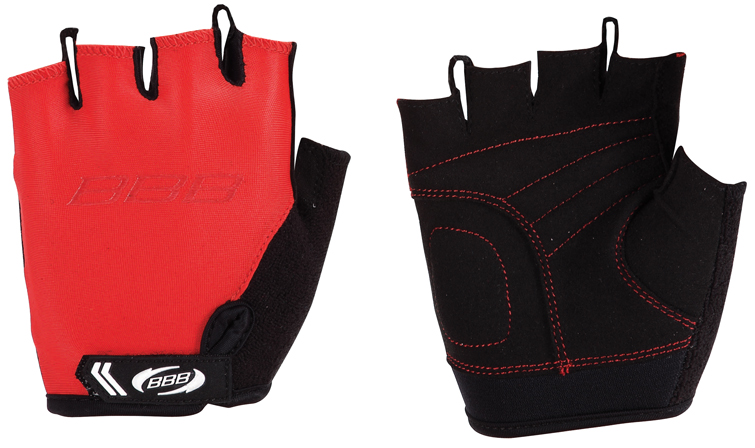 """Перчатки детские велосипедные BBB """"Kids"""", цвет: красный, черный. BBW-45. Размер XL"""