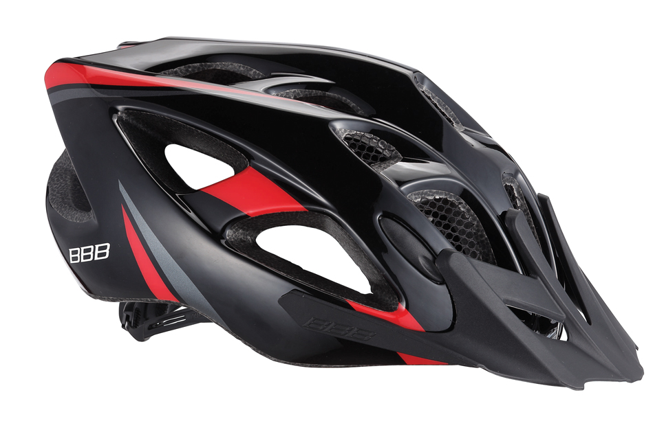 Летний шлем BBB Elbrus, цвет: матовый черный, красный. BHE-34. Размер L (57-63 см)BHE-37Интегрированная конструкция.18 вентиляционных отверстий.Отверстия для вентиляции в задней части шлема для оптимального распределения потоков воздуха.Защитная сетка от насекомых в вентиляционных отверстиях.Настраиваемые ремешки для максимально комфортной посадки.Простая в использовании система настройки TwistClose, можно настроить шлем одной рукой.Съемные мягкие накладки с антибактериальными свойствами и возможностью стирки.Светоотражающие наклейки на задней части шлема.Съемный козырек.