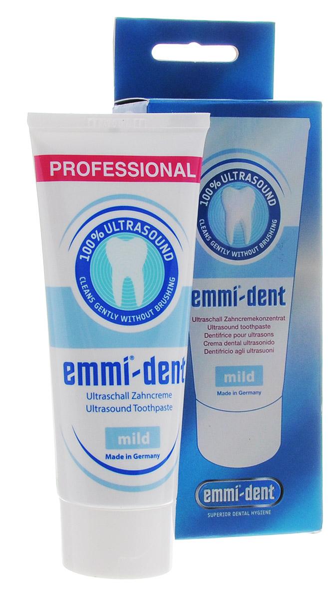 Emmi-Dent Mild зубная паста для ультразвуковой щетки нейтральная, 75 мл5010777139655Объем 75 мл.