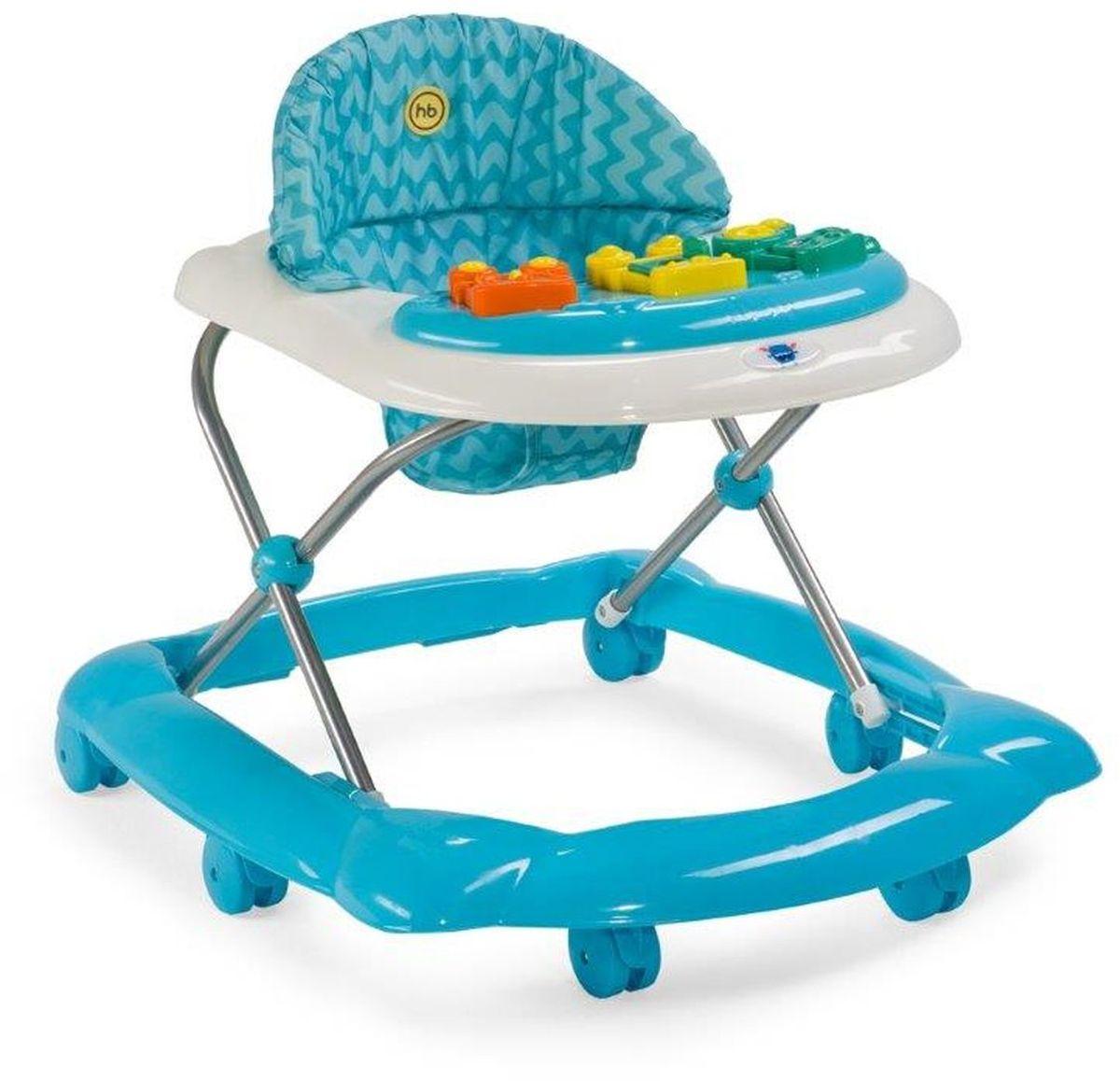 Happy Baby Ходунки Pioneer цвет голубой -  Ходунки