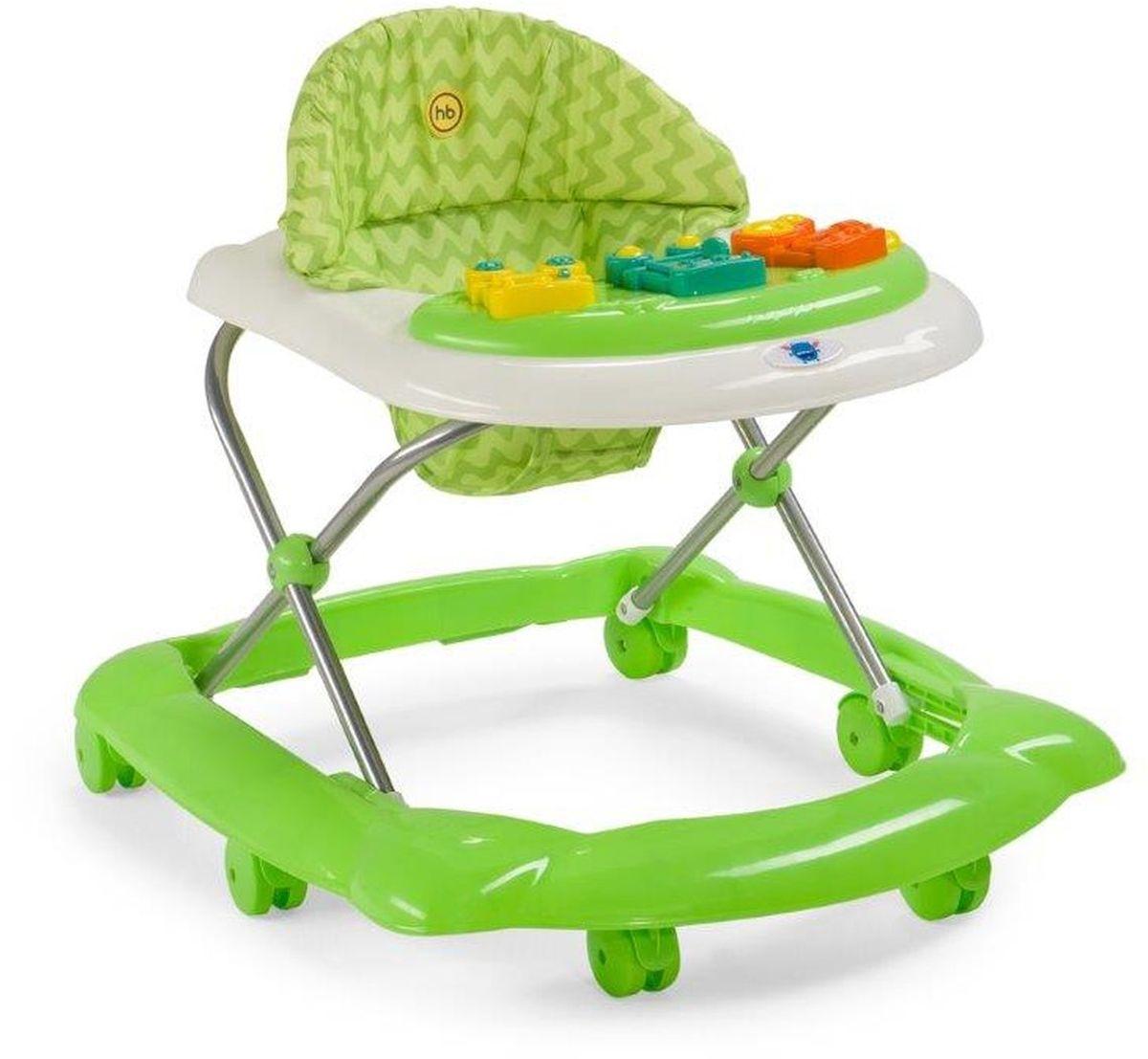 Happy Baby Ходунки Pioneer цвет зеленый -  Ходунки, прыгунки, качалки