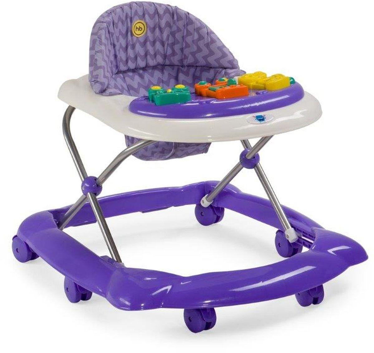 Happy Baby Ходунки Pioneer цвет фиолетовый -  Ходунки