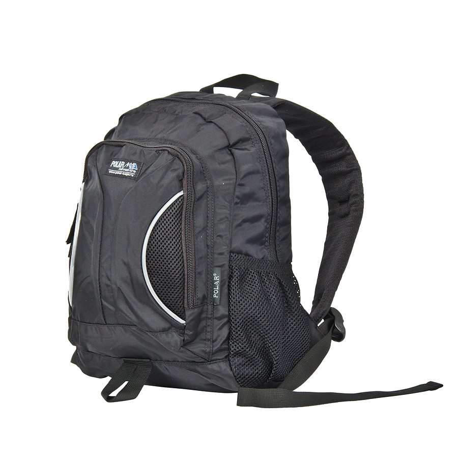 Рюкзак детский городской Polar, 12 л, цвет: черный. П1297-05