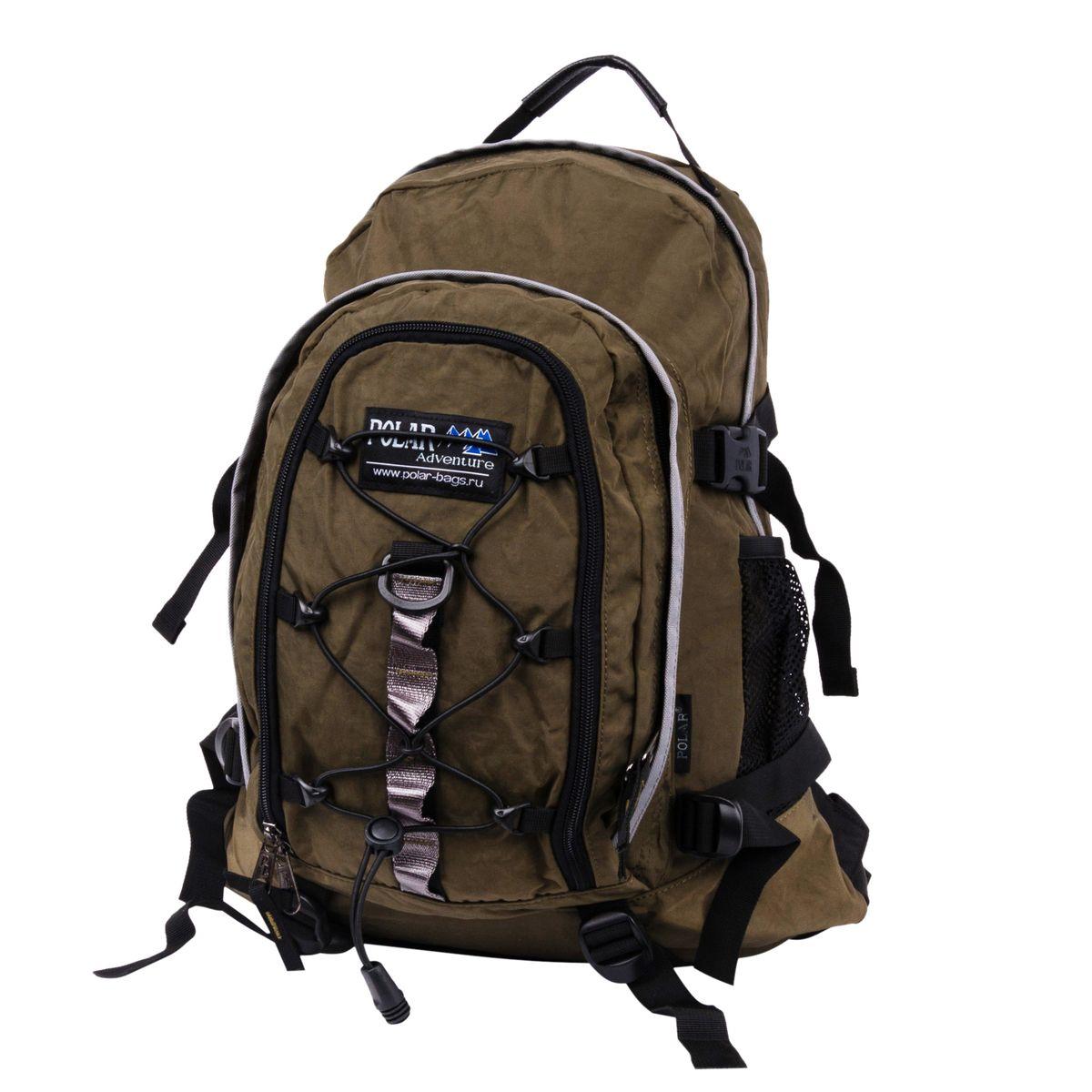 Рюкзак городской Polar, 27 л, цвет: темно-зеленый. П1956-08 - Рюкзаки