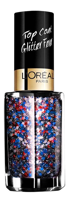 LOreal Paris Верхнее покрытие для ногтей Top Coat, оттенок 954, Канкан, 5 млSC-FM20104Верхнее покрытие Color Riche – самый последний тренд в области маникюра. С помощью уникальной коллекции эффектов теперь возможно придать ногтям совершенно новый, роскошный вид.