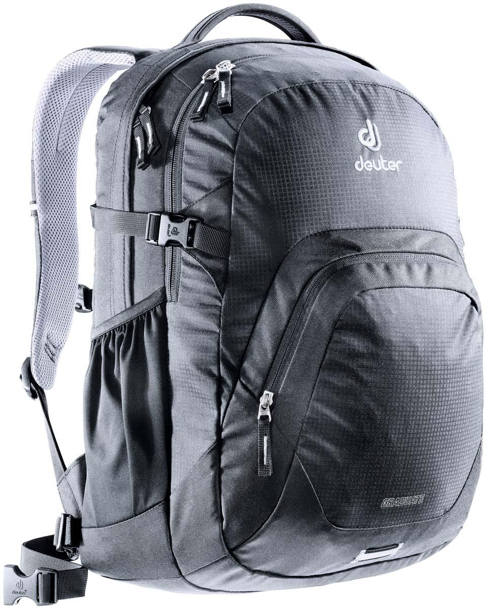 Рюкзак Deuter Daypacks Graduate, цвет: черный, 28 л рюкзак deuter daypacks giga цвет бирюзовый 28 л