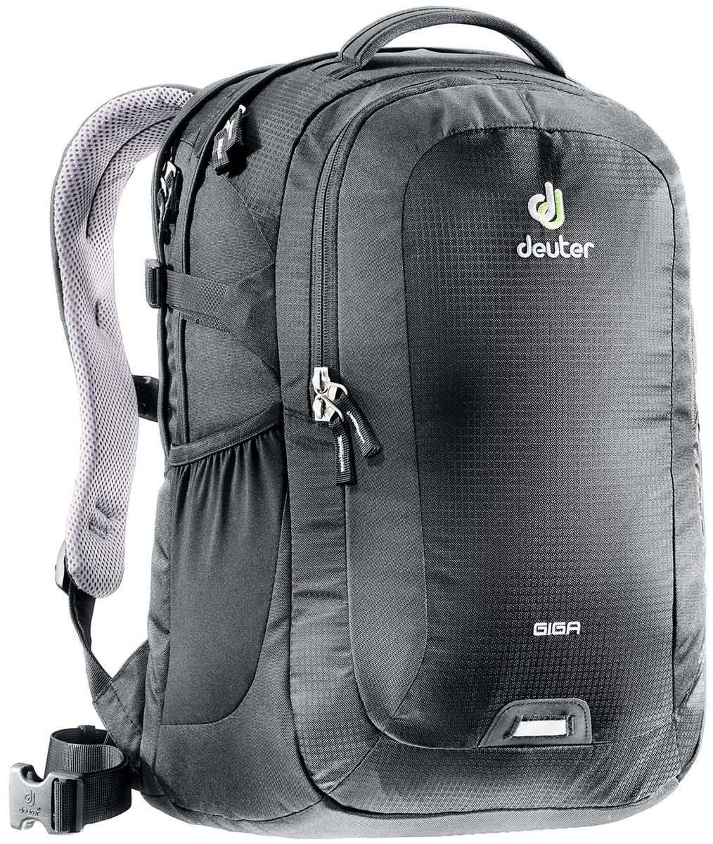 Рюкзак Deuter Daypacks Giga, цвет: черный, 28 л рюкзак deuter daypacks giga aubergine check б р uni