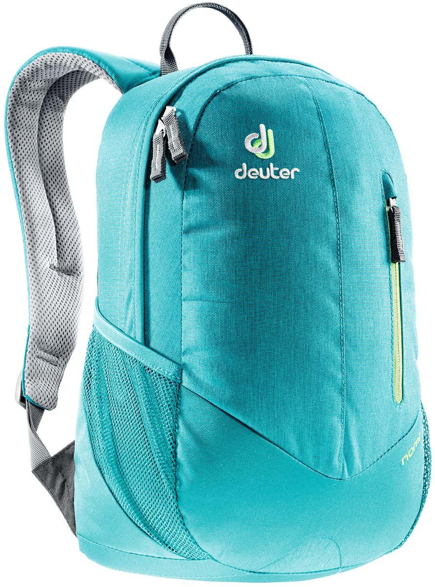 Рюкзак Deuter Daypacks Nomi, цвет: бирюзовый, 16 л рюкзак deuter nomi 16l 2017 petrol dresscode