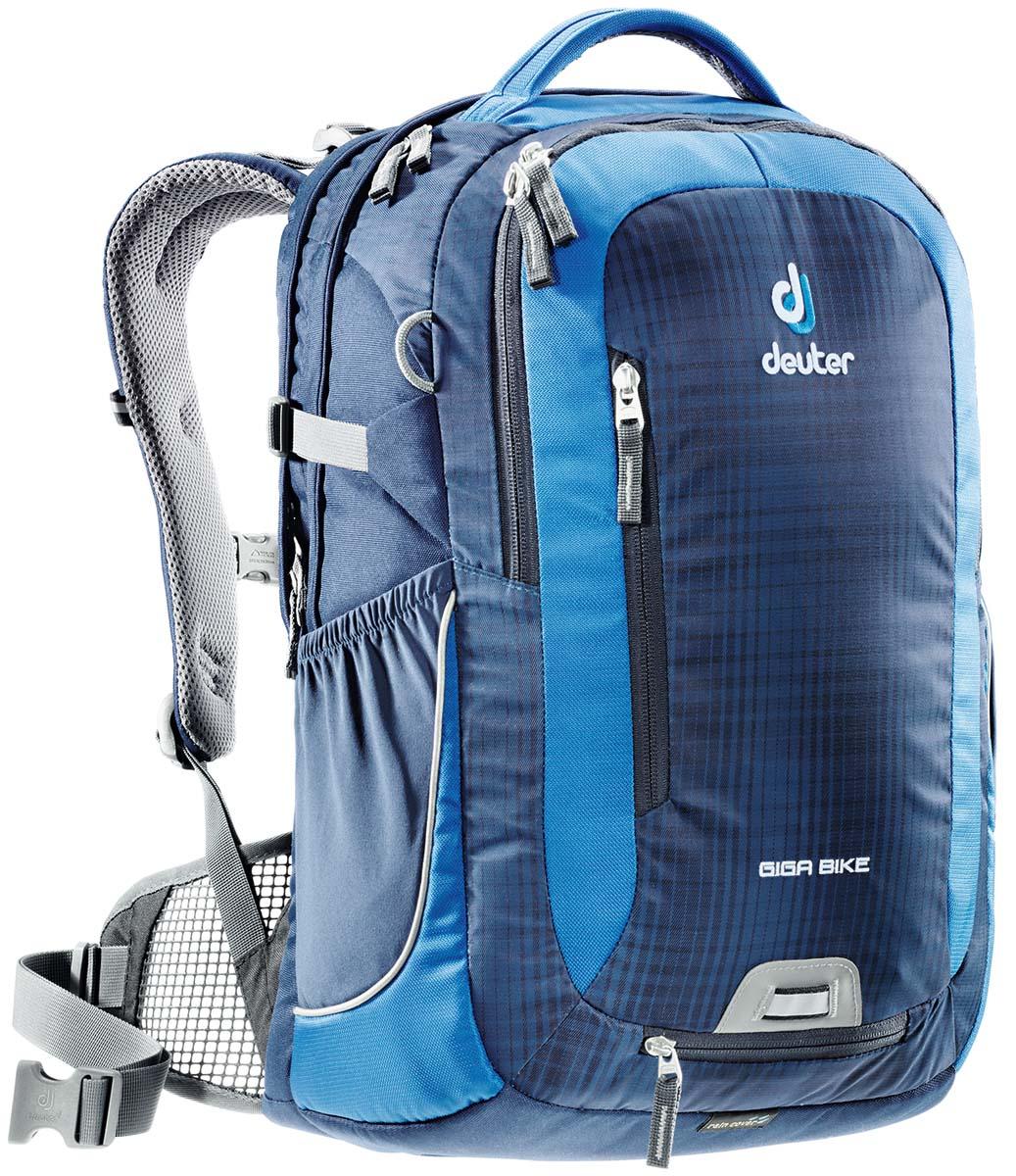 Рюкзак Deuter Giga Bike, цвет: светло-голубой, синий, 28 л рюкзак deuter daypacks giga pro black