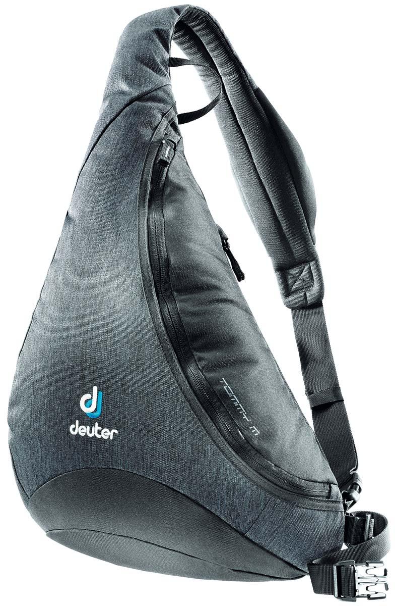 Сумка Deuter Tommy M, цвет: черный, серый, 8л81213_7712Сумка-рюкзак Deuter Tommy MИдеальное сочетание рюкзака и сумки. Рюкзак Deuter Tommy S поставляется в двух размерах. Его новый спортивный стиль подходит как для городских прогулок, так и для туров на открытом воздухе.
