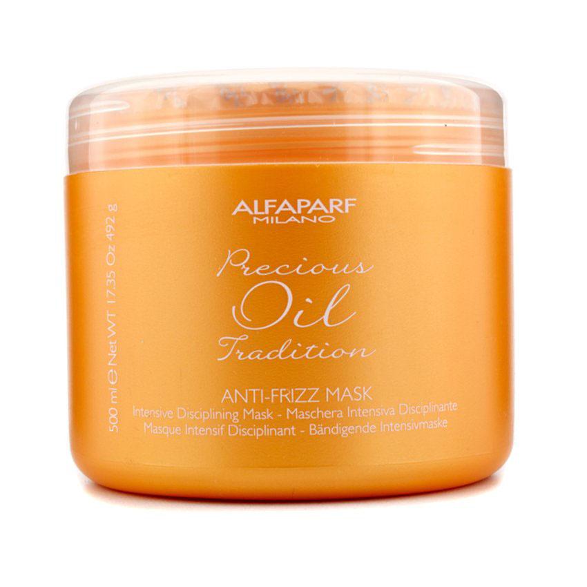 Alfaparf Разглаживающая маска для всех типов волос Precious Oil Tradition Anti-Frizz Mask 500 млMP59.4DИнтенсивная выпрямляющая маска для придания волосам мягкости и облегчения при расчёсывании содержит масла Пекуи и Опунции, которые сглаживают поверхностные шероховатости стержня волоса, таким образом делая волосы более послушными. Волосы становятся мягкими и блестящими.