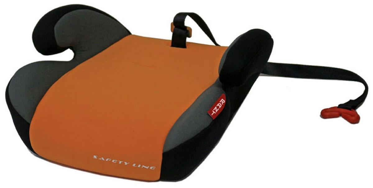 Rant Бустер Point 5 цвет оранжевый от 15 до 36 кг4630008874516Автокресло (бустер) Rant Point 5 разработано для детей весом от 15 до 36 кг (приблизительно с 5 до 12 лет) относится к старшей возрастной группе.Особенности: Автокресло (бустер) представляет собой сиденье без спинки, анатомической формы, с удобными подлокотниками, которые обеспечивают комфортное размещение ребенка при длительных поездках, а также правильное положение рук ребенка, чтобы он меньше уставал во время поездок. Автокресло (бустер) позволяет приподнять ребенка на необходимую высоту, чтобы автомобильный ремень безопасности правильно проходил через грудную клетку и тазобедренную часть тела ребенка. В конце поездки автокресло (бустер) можно с легкостью и быстро убрать в багажник машины. Его также можно использовать для поездок в такси или других автомобилях, не оборудованных детскими автокреслами. Съемный чехол автокресла Point 5 изготовлен из экологичной эластичной ткани, легко чистится и стирается вручную, также допустима стирка в стиральной машине в режиме деликатной стирки 30°.Установка и крепление: Автокресло (бустер) Point 5 устанавливается по направлению движения автомобиля на заднем сиденье, крепится вместе с ребенком штатными автомобильными ремнями. Специальный фиксатор положения ремня поможет правильно зафиксировать ремень на уровне груди ребенка.Важно! Диагональный ремень безопасности должен проходить через грудную клетку и плечо ребенка, а не шею. Закрепляя горизонтальный ремень безопасности через подлокотники автокресла (бустера), обязательно максимально натяните его и следите за тем, чтобы он проходил через тазобедренную часть тела, а не через живот. Автокресло (бустер) Point 5 сертифицировано и соответствует требованиям Европейского стандарта качества и безопасности ECE R44-04.
