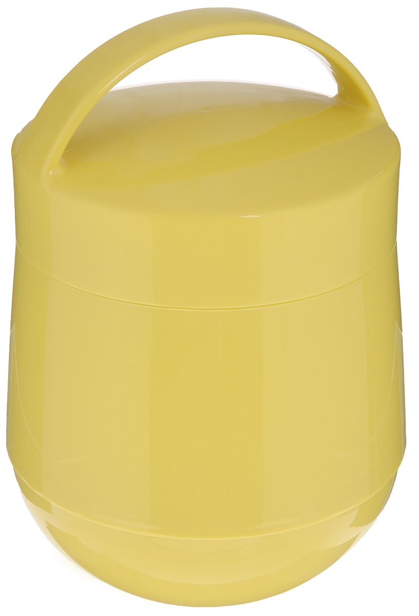 Термос для продуктов Tescoma Family, цвет: желтый, 1 л. 310582115510Термос для продуктов Tescoma Family пригодится в любой ситуации: будь то экстремальный поход, пикник или поездка. Корпус термоса выполнен из высококачественного цветного пластика. Колба термоса изготовлена из стекла, которое является экологически чистым материалом и прекрасно держит температуру. Изделие, оснащенное эргономичной ручкой, предназначено для хранения и переноски теплых и холодных блюд. В комплекте поставляется две пластиковые емкости и универсальная крышка. Емкости вкладываются в изоляционную колбу. Они предназначены для продуктов с высоким содержанием жиров, сахара либо кислот, а также блюд, которые тяжело отмываются со стенок стеклянной колбы. Нейтральные продукты можно хранить непосредственно в самой колбе.Термос Tescoma Family - это идеальный вариант для большой компании и дальней поездки. Не рекомендуется мыть в посудомоечной машине.Диаметр термоса (по верхнему краю): 13 см.Высота термоса (без учета крышки): 15 см.Диаметр малой чаши (по верхнему краю): 12 см.Высота малой чаши: 4,5 см.Диаметр большой чаши (по верхнему краю): 12,3 см.Высота большой чаши: 16,5 см.Диаметр крышки: 13 см.