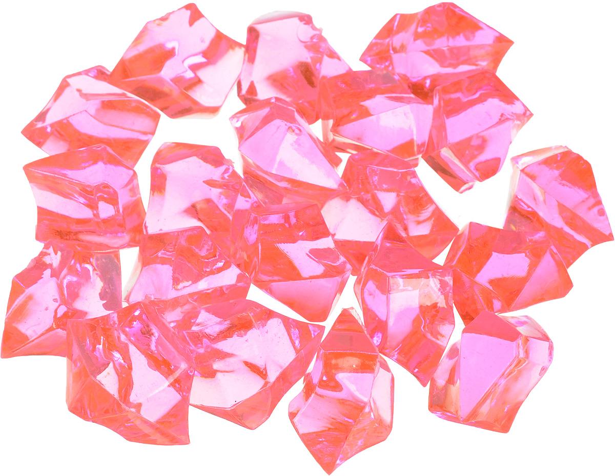 Набор декоративных кристаллов Большие камни, цвет: розовый, 70 г. 824-0127710556_розовыйНабор декоративных кристаллов Большие камни, выполненный из пластика, замечательно подойдет для украшения вашего дома. Его можно использовать для декора интерьера, а также как наполнитель для декоративных ваз. Декоративные кристаллы создают чувство уюта и улучшают настроение. Размер кристалла: 3 х 2 х 2 см.