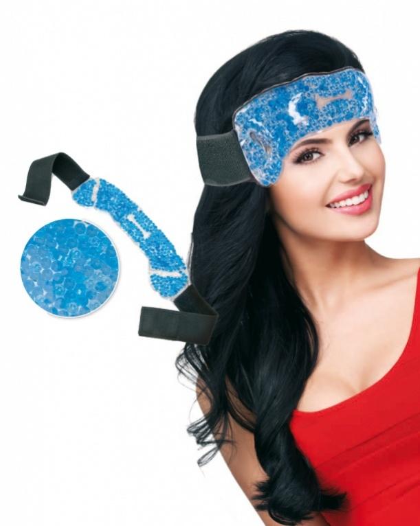 BRADEX Компресс для головы гелевыйMCN-600А (Life)К сожалению, каждый из нас прекрасно знает как порой сдавливает виски, а голова как будто тяжелеет, от этого ощущения спасает разве что зимняя шапка. А когда ноют зубы и приходится прикладывать лед к лицу. Компресс для головы гелевый – это прекрасная замена традиционным средствам, но в отличие от шапки он согревает лишь ту область головы, к которой Вы его приложите, и не мучает Вас излишним теплом; лед же занимает Ваши руки, тает и течет, а компресс – нет.