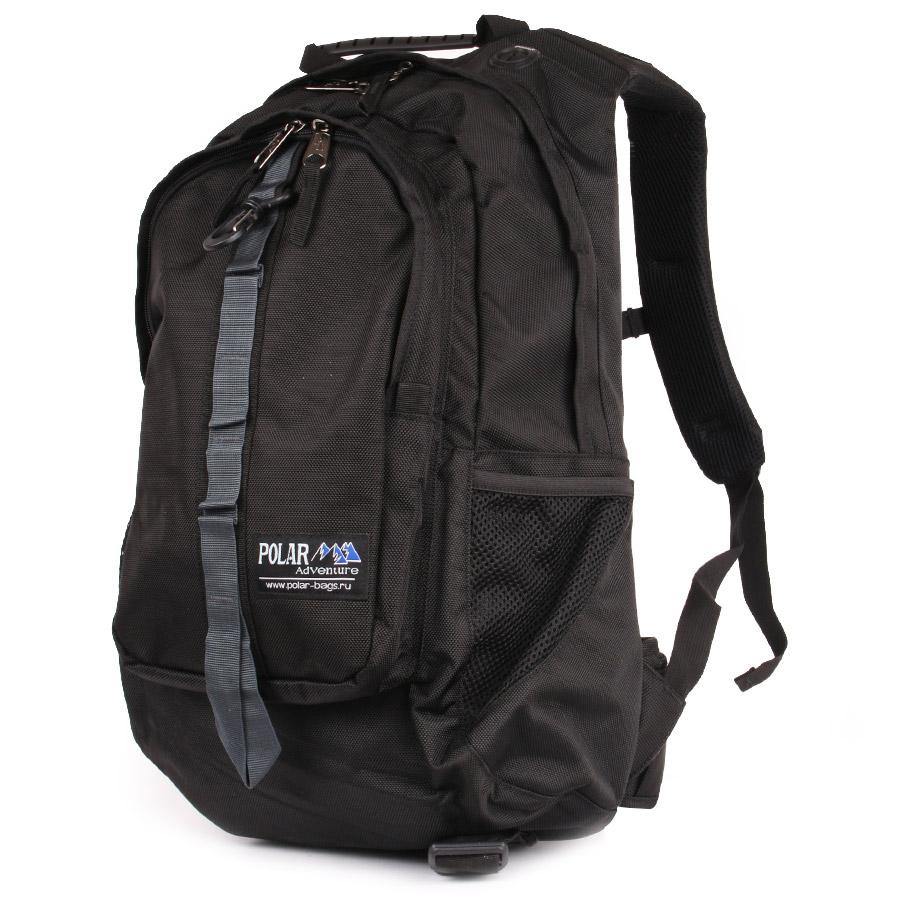 Рюкзак городской Polar, 41 л, цвет: черный. П919-05 - Рюкзаки