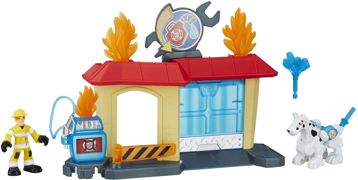Playskool Heroes Игровой набор Griffin Rock Garage набор playskool heroes мстители геликарриер