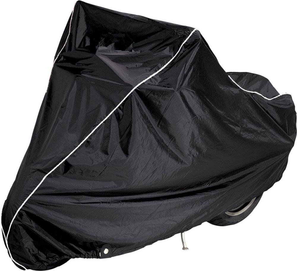 Чехол AG-brand, для мотоцикла BMW K1600GT, цвет: черный, голубойC0038553Чехол AG-brand предназначен для хранения мотоцикла K1600GT любого года выпуска. Он изготовлен из высокопрочной плотной тентовой ткани с высоким показателем водоупорности. Изделие имеет светоотражающий кант. Благодаря чехлу, отражающему солнечные лучи, техника не нагревается на солнце.Чтобы любое транспортное средство служило долгие годы, необходимо не только соблюдать все правила его эксплуатации, но и правильно его хранить. Негативное влияние на состояние мототехники оказывают прямые солнечные лучи, влага, пыль, которые не только могут вызвать коррозию внешних металлических поверхностей, но и вывести из строя внутренние механизмы транспортных средств. Необходимо создать условия для снижения воздействия этих негативных факторов. Именно для этого и предназначены чехлы. Чехол для транспортировки и хранения входит в комплект.
