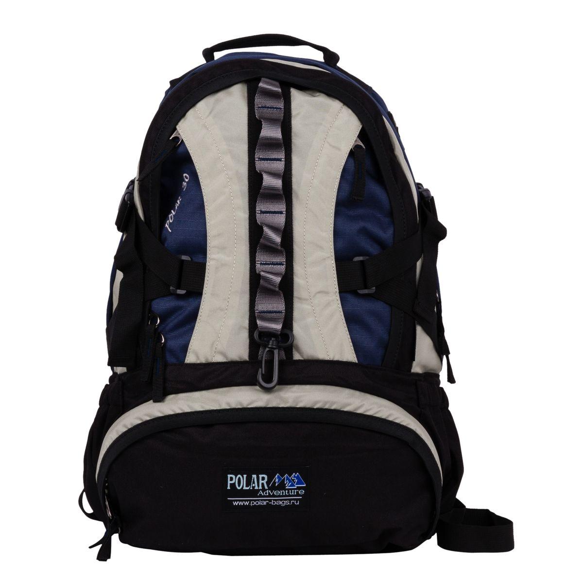 Рюкзак городской Polar, цвет: синий, 27 л. П1003-04BP-001 BKГородской рюкзак Polar с модным дизайном. - Полностью вентилируемая и удобная мягкая спинка, мягкие плечевые лямки создают дополнительный комфортпри ношении. - Центральный отсек для персональных вещей и документов A4 на двухсторонних молниях для удобства. - Маленький карман для mp3, CD плеера. - Два боковых кармана под бутылки с водой на резинке.- Регулирующая грудная стяжка с удобным фиксатором.- Регулирующий поясной ремень, удерживает плотно рюкзак на спине, что очень удобно при езде на велосипеде или продолжительных походах.- Большой отсек для спортивной обуви.