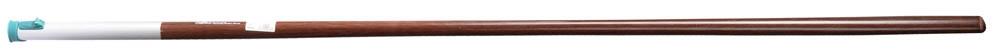 Черенок Raco, с быстрозажимным механизмом, длина 150 cмC0042416Черенок Raco используется в качестве удлиняющей штанги для инструментов. Ручка оснащена быстрозажимным механизмом и металлическим ободом для длительного срока службы изделия.Длина изделия: 150 см.