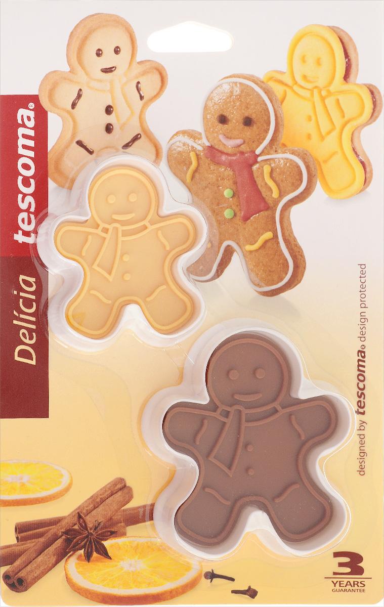 Формочки для вырезания печенья Tescoma Delicia, 2 шт
