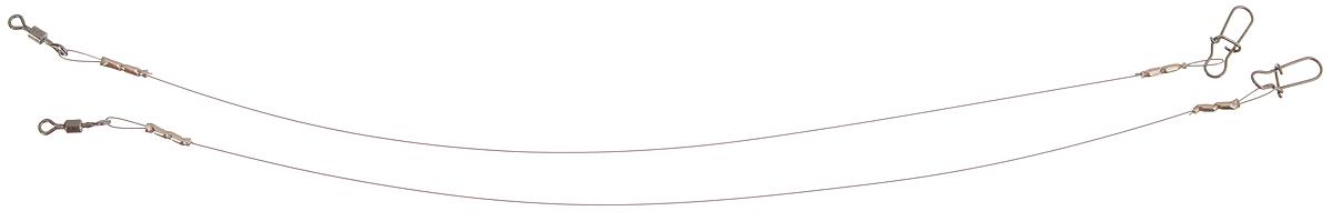 Поводок Win Soft Mirror, мягкий, тест 4 кг, 12,5 см, 2 шт13-7-319Поводок Win Soft Mirror изготовлен из особого титанового сплава. Он отражает и рассеивает свет, при невысокой освещенности становится невидимым. Мягкость и пластичность обеспечивает приманке большую свободу движений. При небольших механических повреждениях поводок восстанавливает форму от тепла рук. Многократно растягивается до 8% под нагрузкой без ущерба прочности. Не подвержен коррозии, не токсичен.Особенности поводка:Многократно испытан на прочность.Высококачественная фурнитура подобрана с достаточным запасом прочности.Контроль качества на всех этапах производства.Длина поводков: 12,5 см.Тест: 4 кг.Диаметр: 0,2 мм.