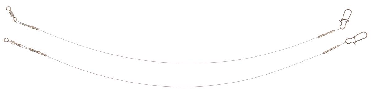 Поводок Win Soft Mirror, мягкий, тест 4 кг, 15 см, 2 штMABLSEH10001Поводок Win Soft Mirror изготовлен из особого титанового сплава. Он отражает и рассеивает свет, при невысокой освещенности становится невидимым. Мягкость и пластичность обеспечивает приманке большую свободу движений. При небольших механических повреждениях поводок восстанавливает форму от тепла рук. Многократно растягивается до 8% под нагрузкой без ущерба прочности. Не подвержен коррозии, не токсичен.Особенности поводка:Многократно испытан на прочность.Высококачественная фурнитура подобрана с достаточным запасом прочности.Контроль качества на всех этапах производства.Длина поводков: 15 см.Тест: 4 кг.Диаметр: 0,2 мм.