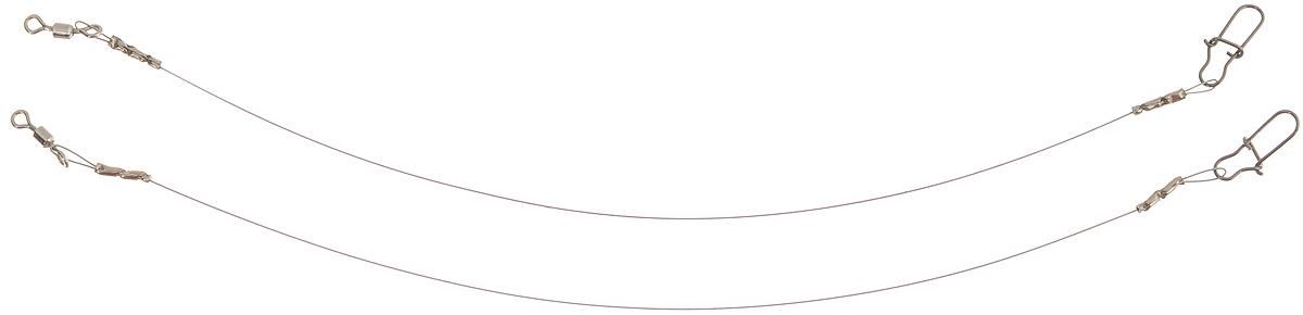 Поводок Win Soft Mirror, мягкий, тест 4 кг, 10 см, 2 шт56983Поводок Win Soft Mirror изготовлен из особого титанового сплава. Он отражает и рассеивает свет, при невысокой освещенности становится невидимым. Мягкость и пластичность обеспечивает приманке большую свободу движений. При небольших механических повреждениях поводок восстанавливает форму от тепла рук. Многократно растягивается до 8% под нагрузкой без ущерба прочности. Не подвержен коррозии, не токсичен.Особенности поводка:Многократно испытан на прочность.Высококачественная фурнитура подобрана с достаточным запасом прочности.Контроль качества на всех этапах производства.Длина поводков: 10 см.Тест: 4 кг.Диаметр: 0,2 мм.