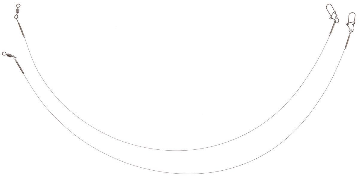 Поводок Win Soft, мягкий, тест 6 кг, 25 см, 2 шт4271842Поводок Win Soft изготовлен из особого титанового сплава. Материал производится по специальной технологии, отличается специальным легированием и дополнительной термомеханической обработкой. Мягкость и пластичность обеспечивает приманке большую свободу движений. При небольших механических повреждениях поводок восстанавливает форму от тепла рук. Многократно растягивается до 8% под нагрузкой без ущерба прочности. Не подвержен коррозии, не токсичен.Особенности поводка:Многократно испытан на прочность.Высококачественная фурнитура подобрана с достаточным запасом прочности.Контроль качества на всех этапах производства.Длина поводков: 12,5 см.Тест: 6 кг.Диаметр: 0,25 мм.