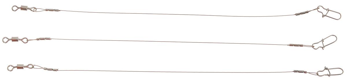 Поводок Win AFW, тест 5,5 кг, 10 см, 3 шт4271825Поводки Win AFW выполнены из высококачественного материала Surfstrand Micro Supreme 7x7 AFW. Данный материал имеет маскирующее покрытие САМО, подходящее для большинства водоемов. Поводки очень мягкие и устойчивые к деформациям, не подвержены коррозии, деформациям.Особенности поводков:Многократно испытаны на прочность.Высококачественная фурнитура подобрана с достаточным запасом прочности.Контроль качества на всех этапах производства.Длина поводков: 10 см.Тест: 5,5 кг.Диаметр: 0,23 мм.