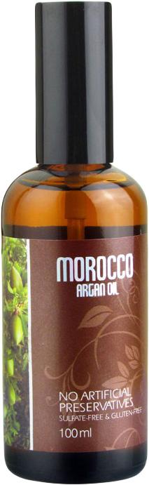 Morocco Argan Oil Масло арганы для волос 100 мл47321Марокканское аргановое масло - непревзойденный по своим ценным качествам природный ингредиент, который равномерно покрывает волосы, не утяжеляя их и не оставляя липкости и жирного блеска. После использования масла волосы становятся более упругими, восстанавливаются изнутри, лучше расчесываются и надежно защищены от солнца, перепадов температур и других негативных воздействия.Масло семян льна является эффективной профилактикой выпадения волос, изнутри питает кожу головы и волосы, восполняет дефицит необходимых веществ. Благодаря льняному маслу снижается избыточное салоотделение, перхоть исчезает. Это масло усиливает и дополняет действие масла арганы и делает его максимально эффективным.