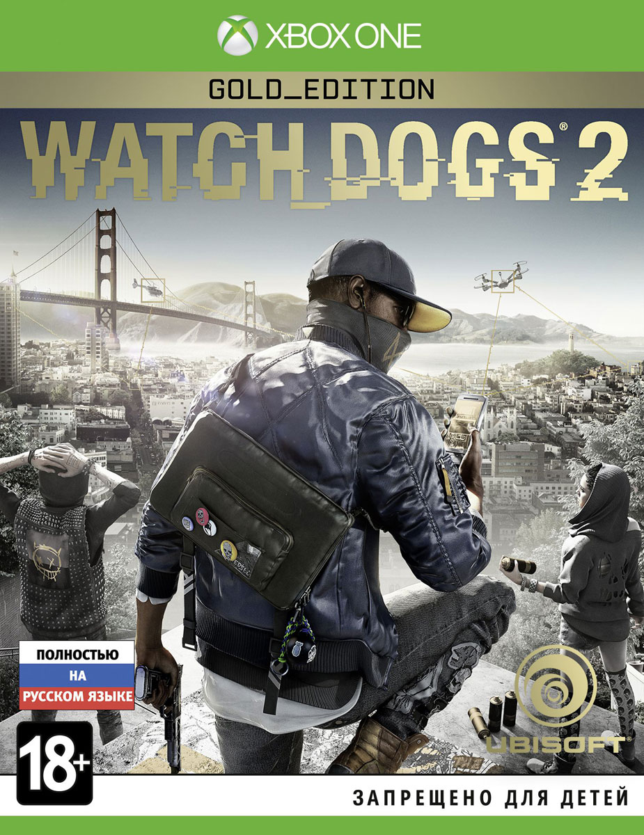 Watch Dogs 2. Gold Edition (Xbox One), Ubisoft Montreal
