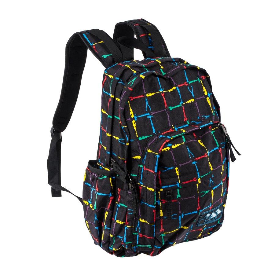 Рюкзак городской Polar, 15 л, цвет: черный. П3901-05П1572-13Много функциональный женский городской рюкзак с модным дизайном. Полностью вентилируемая и удобная мягкая спинка, мягкие плечевые лямки создают дополнительный комфорт при ношении. Центральный отсек для персональных вещей и документов A4 на двухсторонних молниях для удобства.